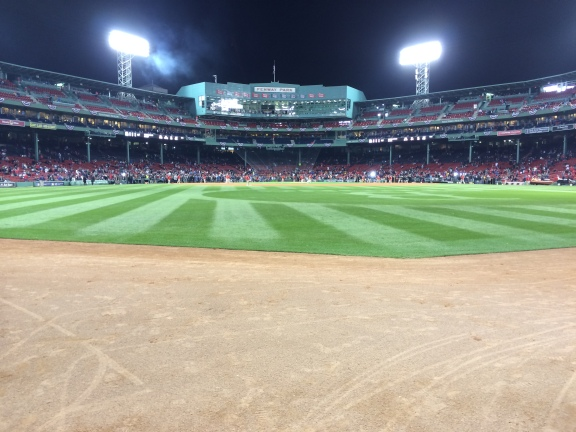 Fenway Outfield
